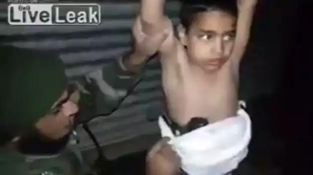 Το Ισλαμικό Κράτος έδεσε βόμβα πάνω σε νήπιο και το έστειλε να ανατιναχτεί (βίντεο)