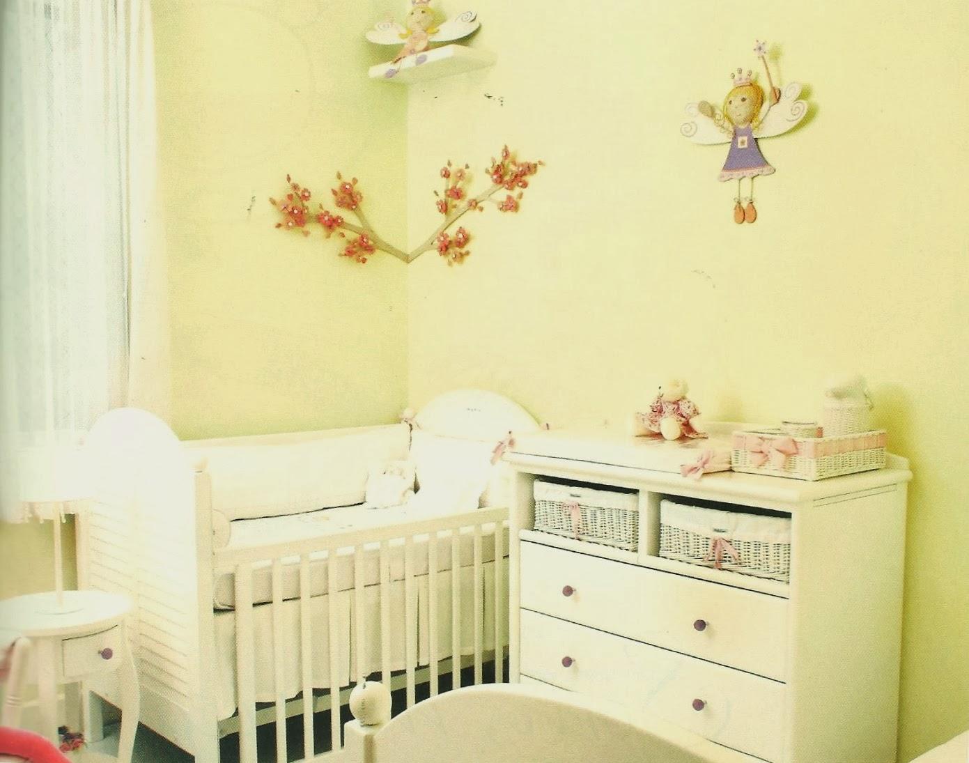 Babuchy Decor Kids Como Escolher as Cores do Quarto do Bebê ~ Quarto Rosa Amarelo