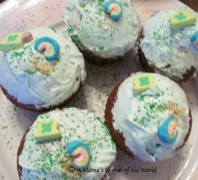 Fun St. Patricks Day Cupcakes for Kids