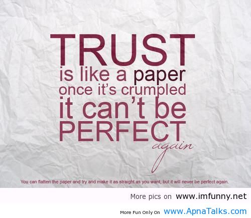 quotations on trust - photo #4