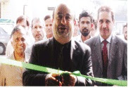 Abdulla Yousef Abdulla inaugurates PTCL EFC