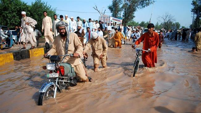 Rains continue to wreak havoc and claim 19 deaths in Pakistan