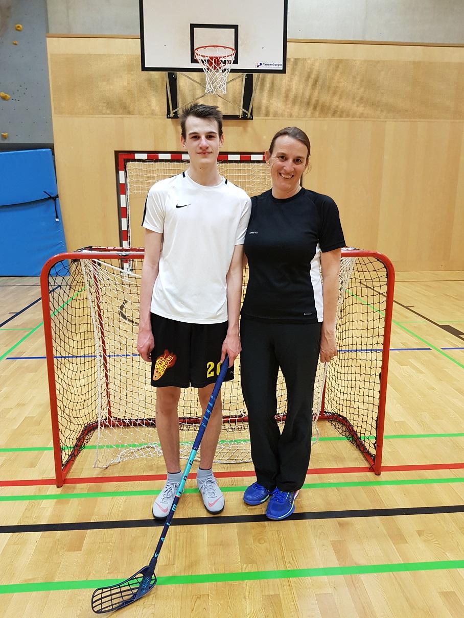 Florian und Mama Isolde