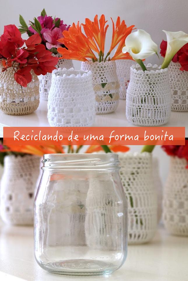 Reciclando-vidros