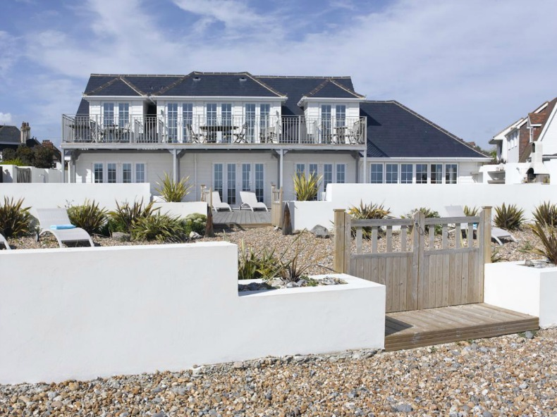Coastal beach house, West Sussex, UK