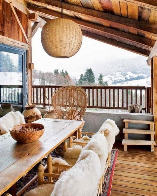 Desain Rumah kayu Unik Mengesankan Di Pegunungan Alpen | Blog Koleksi