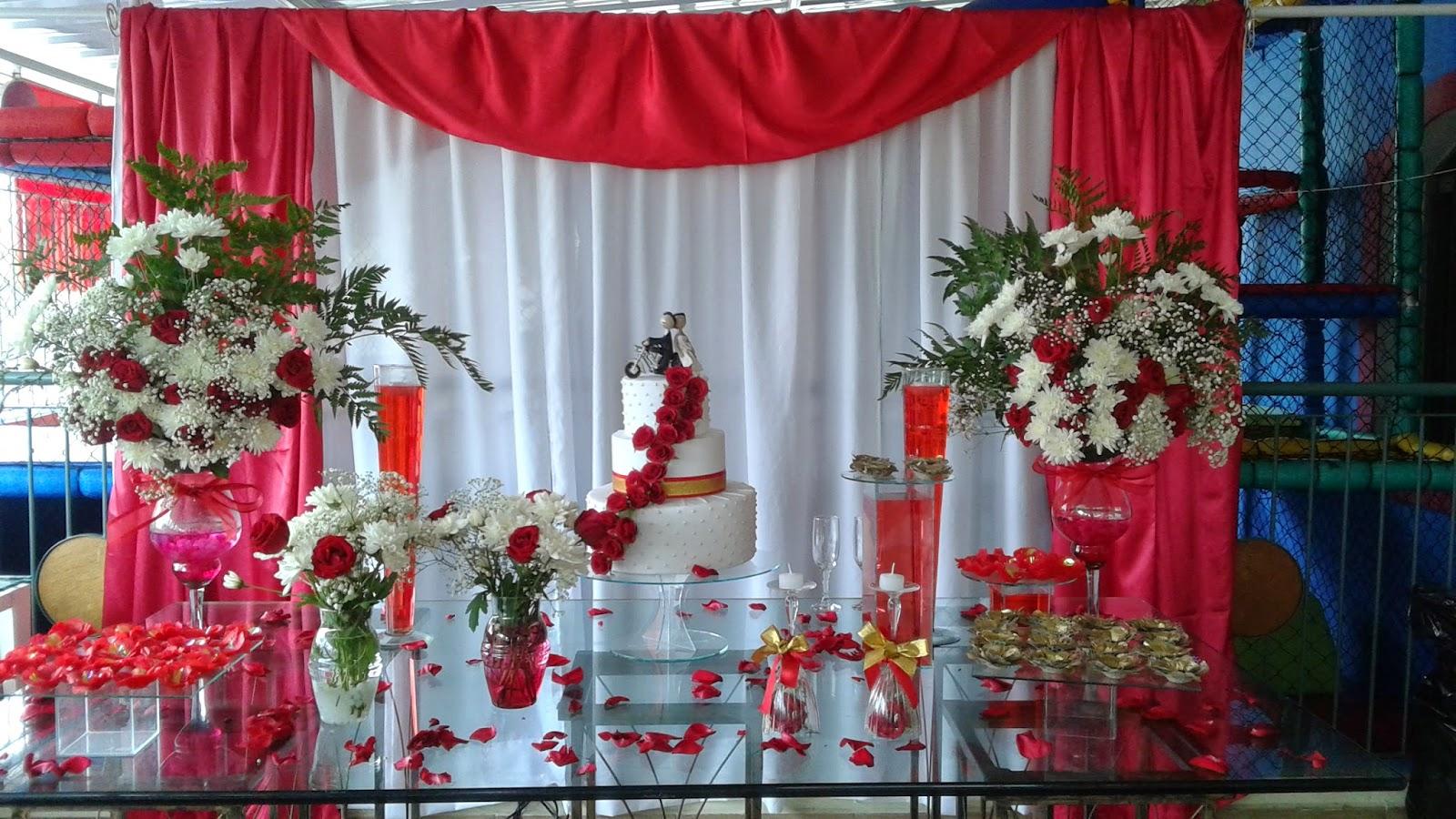 decoracao festa branco e vermelho: da Festa Nefesh: DECORAÇÃO CASAMENTO VERMELHO E BRANCO PATRICIA