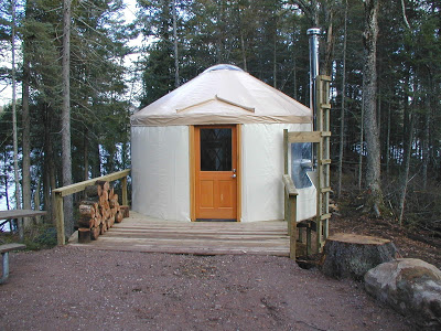 Michigan State Park yurts available for unique winter camping experience