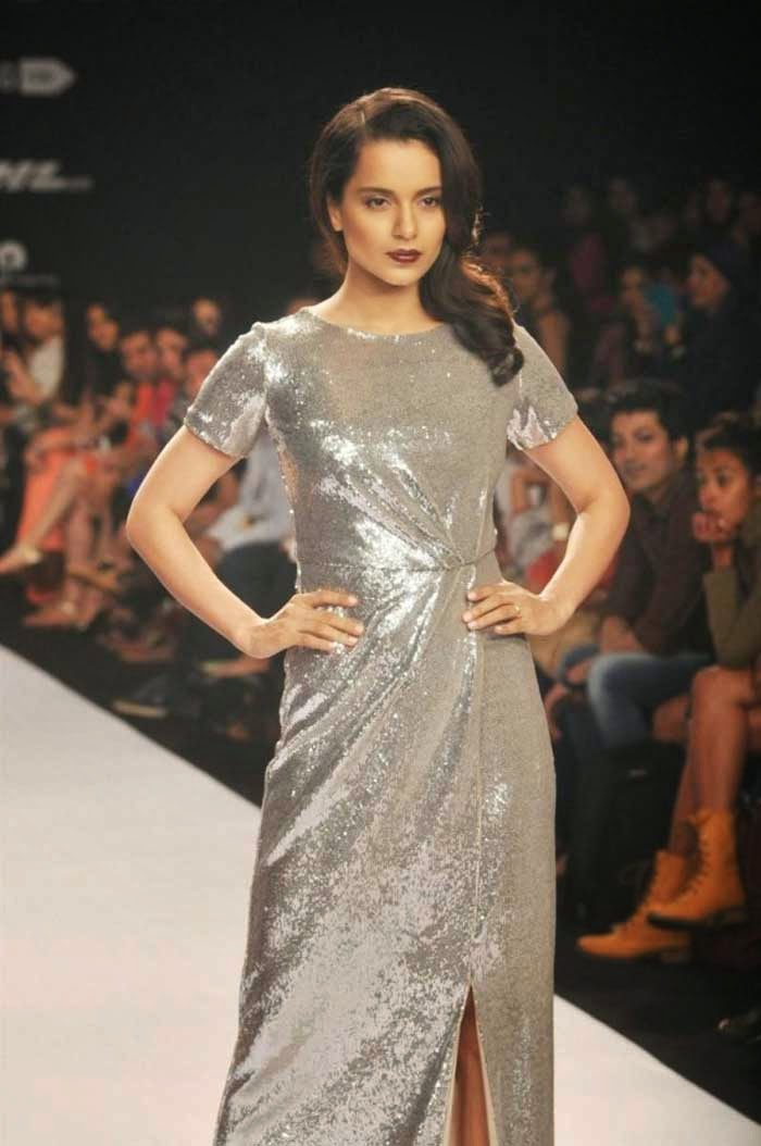 Kangana Ranaut at Lakme Fashion Week Summer Resort 2014
