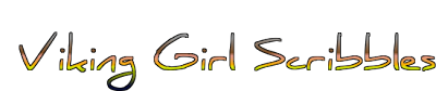 Viking Girl Scribbles