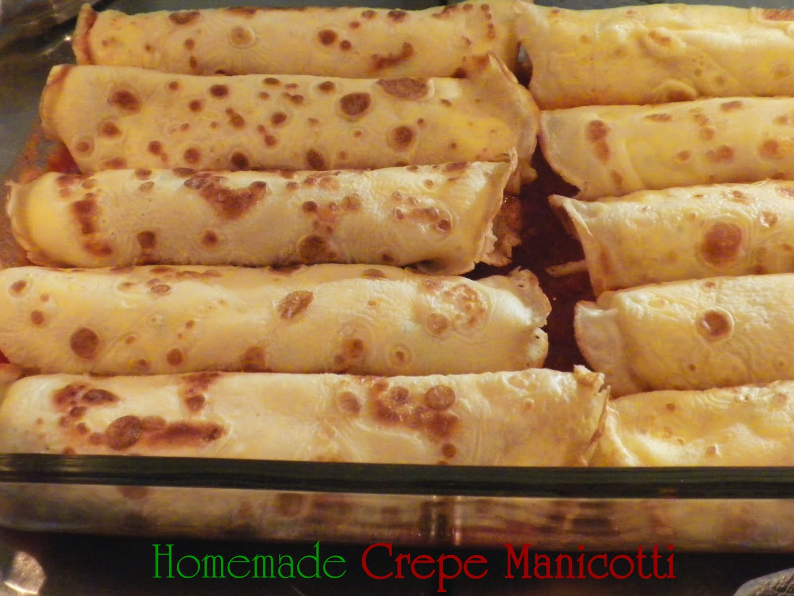 ... mouth crepe style italian manicotti made with homemade crepes rather