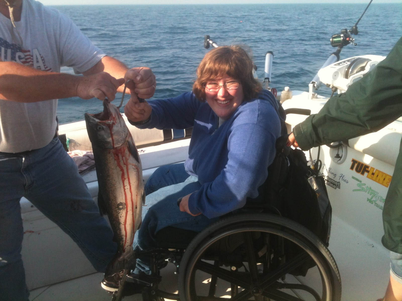 Five orr 39 s lake michigan sport fishing charters current for Lake michigan fishing report