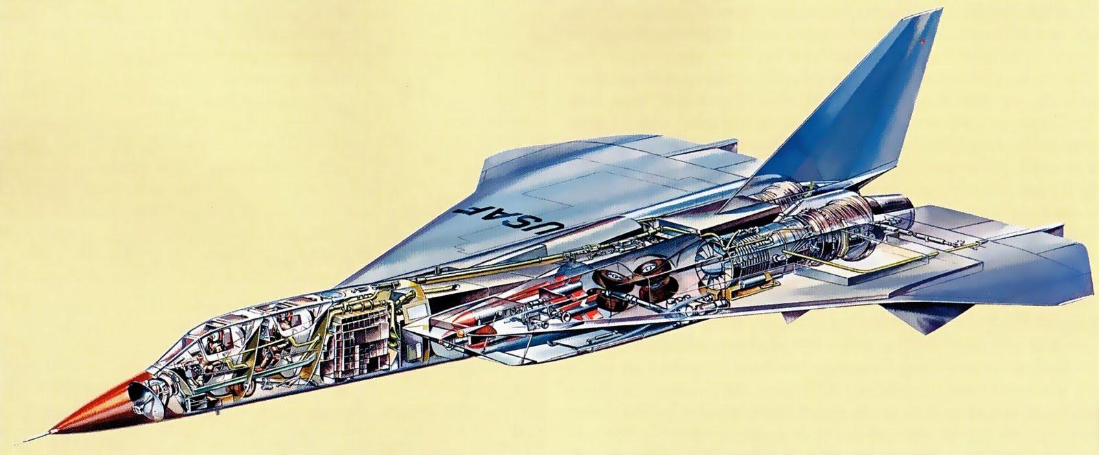 North American XF-108 Rapier 3980103013_66f466318a_o