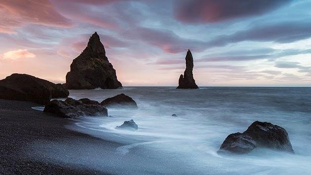 Costa y bruma, Islandia