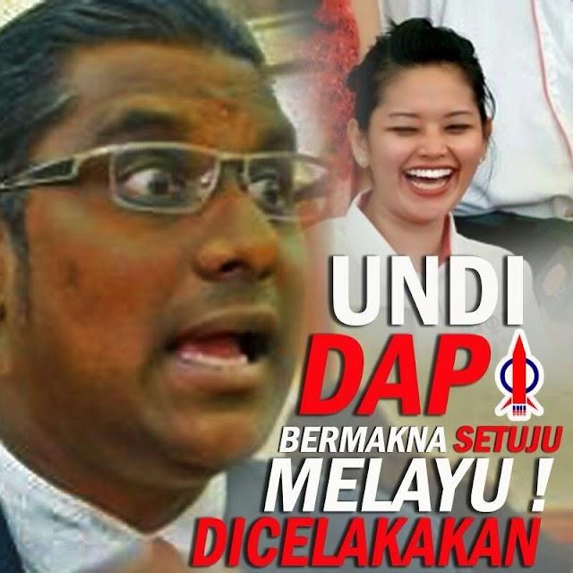 #PRKTelukintan : Calon DAP Kantoi Lagi