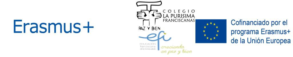 Erasmus+ La Purísima Franciscanas Valencia