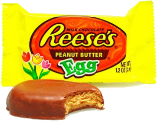 Reese's peanut butter eggs.