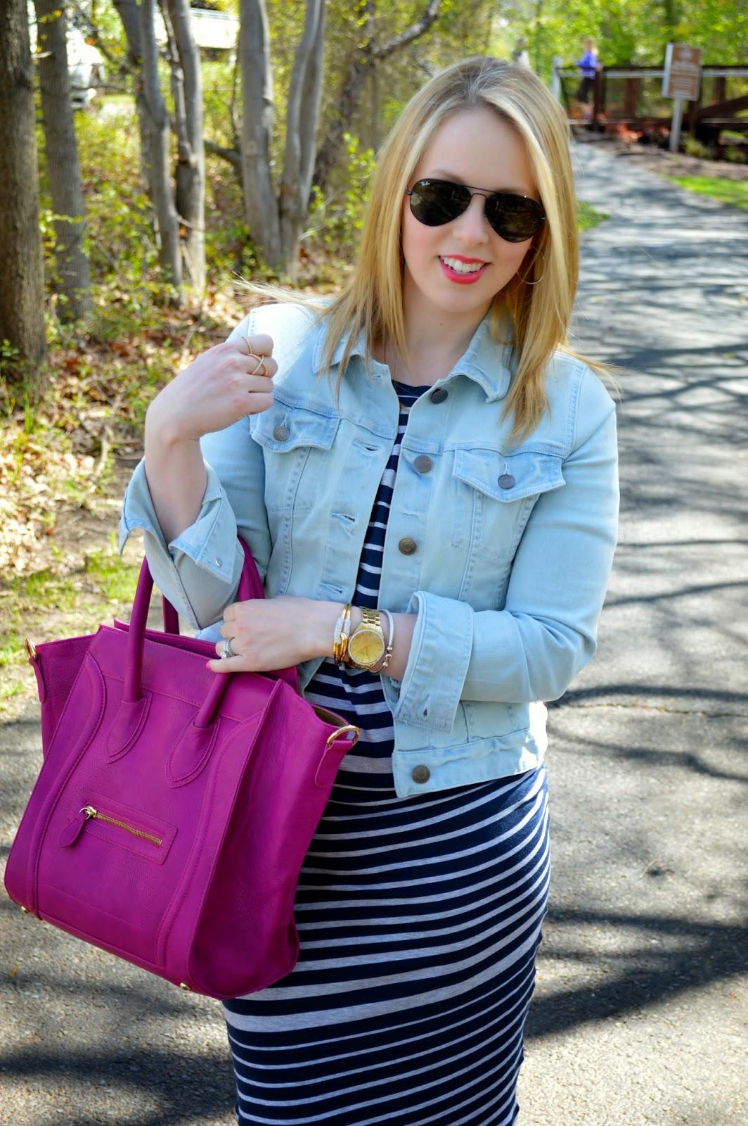 CAbi-stripe-tee-dress