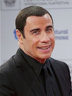 John Travolta's two-year-old son is learning to be a 'barfly'