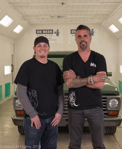 FAST 'N LOUD EXCLUSIVELY USES VALSPAR'S DE BEER REFINISHING PRODUCTS