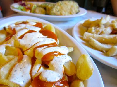 Potatoes Bravas