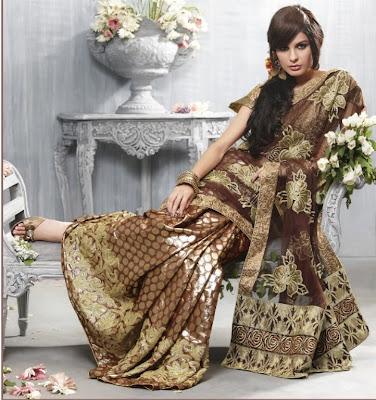 Indian Party Wear Sarees, Women Wear Sarees Online