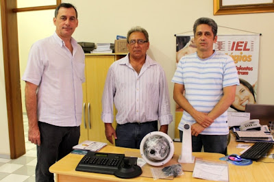 Guarda Municipal Corumbá recebe mais duas câmeras de monitoramento