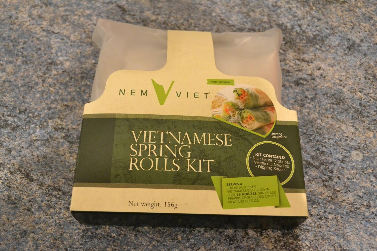 Nem Viet, Vietnamese Spring Rolls Kit