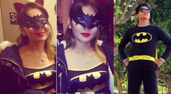 After you DJ, Kathryn Bernardo dons the Batgirl costume in time for the Halloween