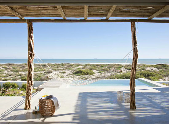 Safari Fusion blog | Take a dip | Beach front bliss at Casa Sanchia, Dwarskersbos South Africa
