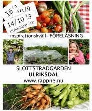 Föreläsning - Året i köksträdgården 28 april är det dags igen!