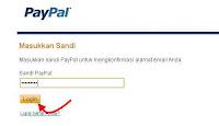 Konfirmasi Paypal lewat email