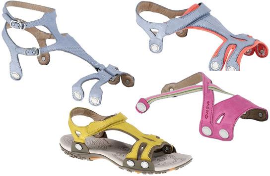 sandalias transformables para mujer