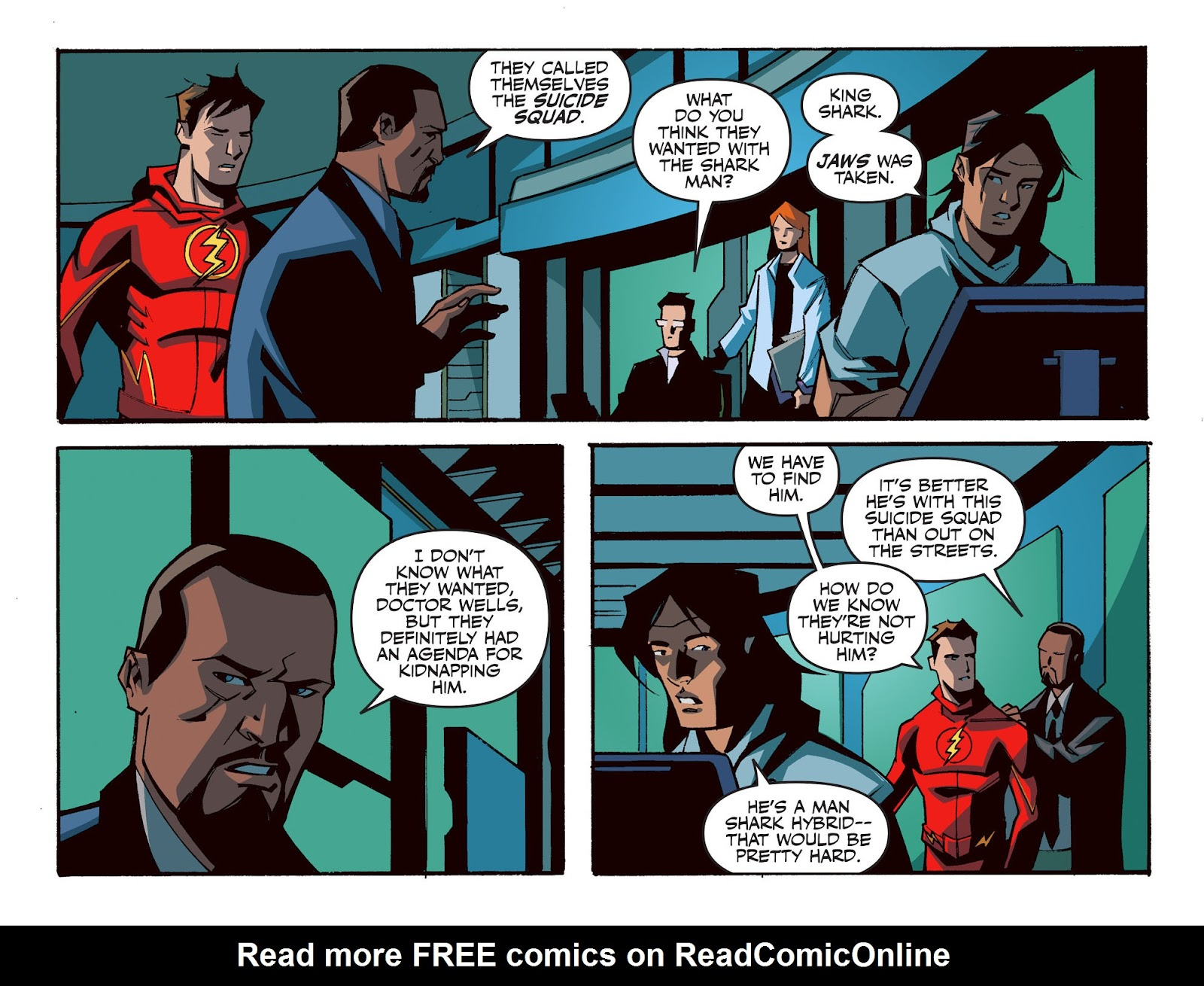 The Flash: Season Zero [I] Issue #15 #15 - English 7
