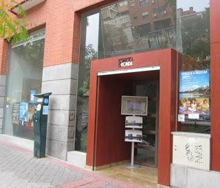 Entrada de Espacio Ronda. Madrid. Puerta de Toledo