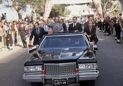 سيارة الرئيس الراحل أنور السادات للبيع