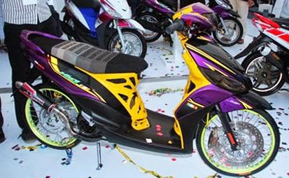 Rincian Harga Aksesoris Motor Yamaha Mio J Terbaru 2015