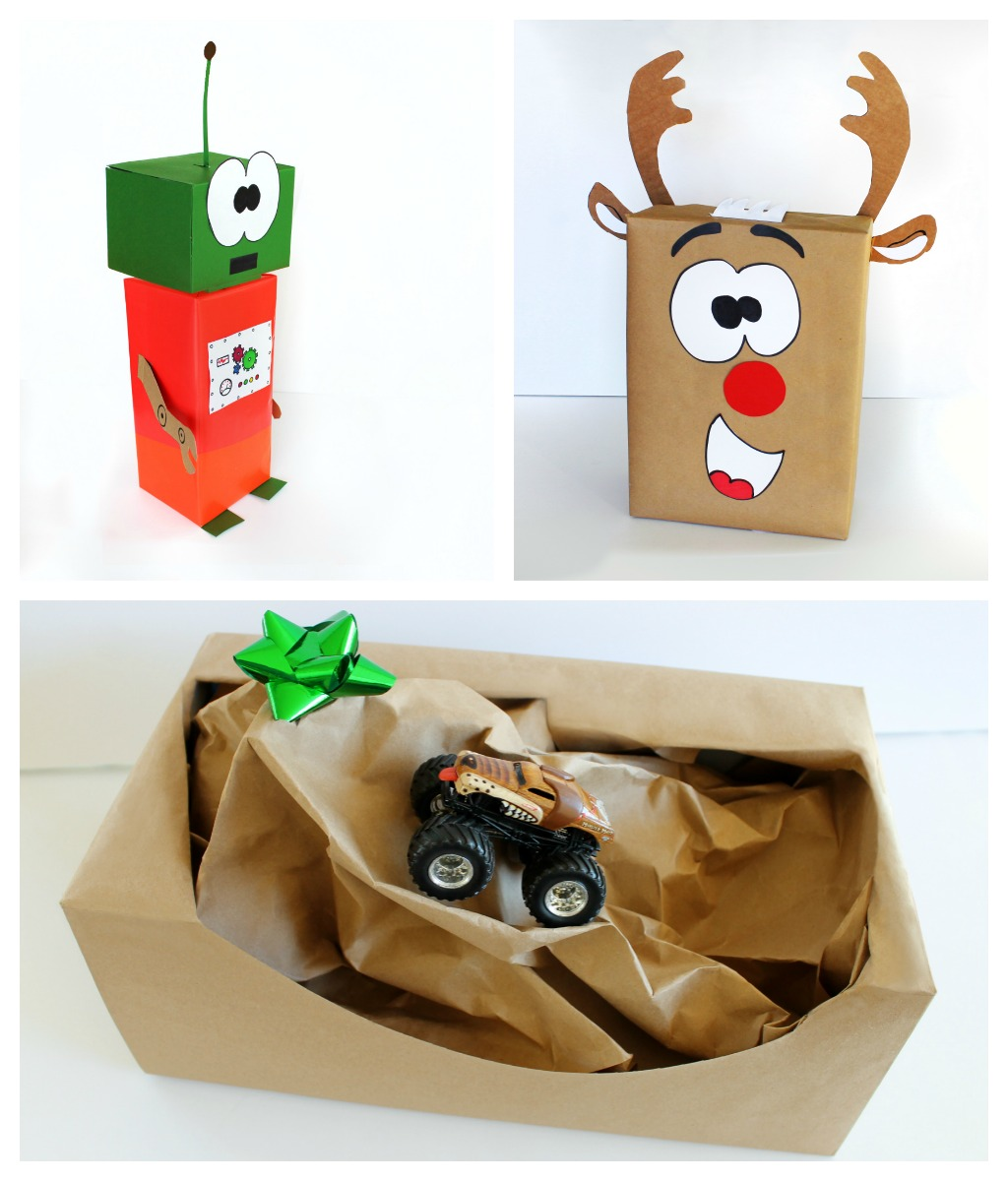 Creative Gift Wrap Ideas For Kids Craft Art Ideas