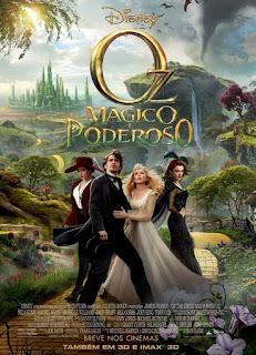 """Poster do filme """"Oz - Mágico e Poderoso"""