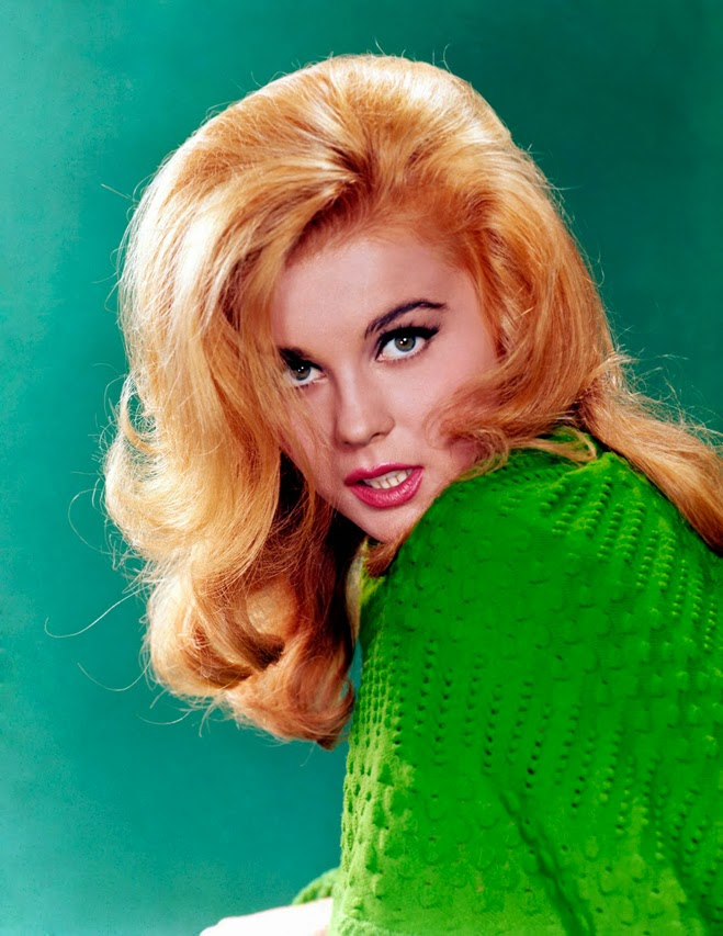 Ann Margret via Lexi DeRock of Voluptuous Vintage Vixen Blog