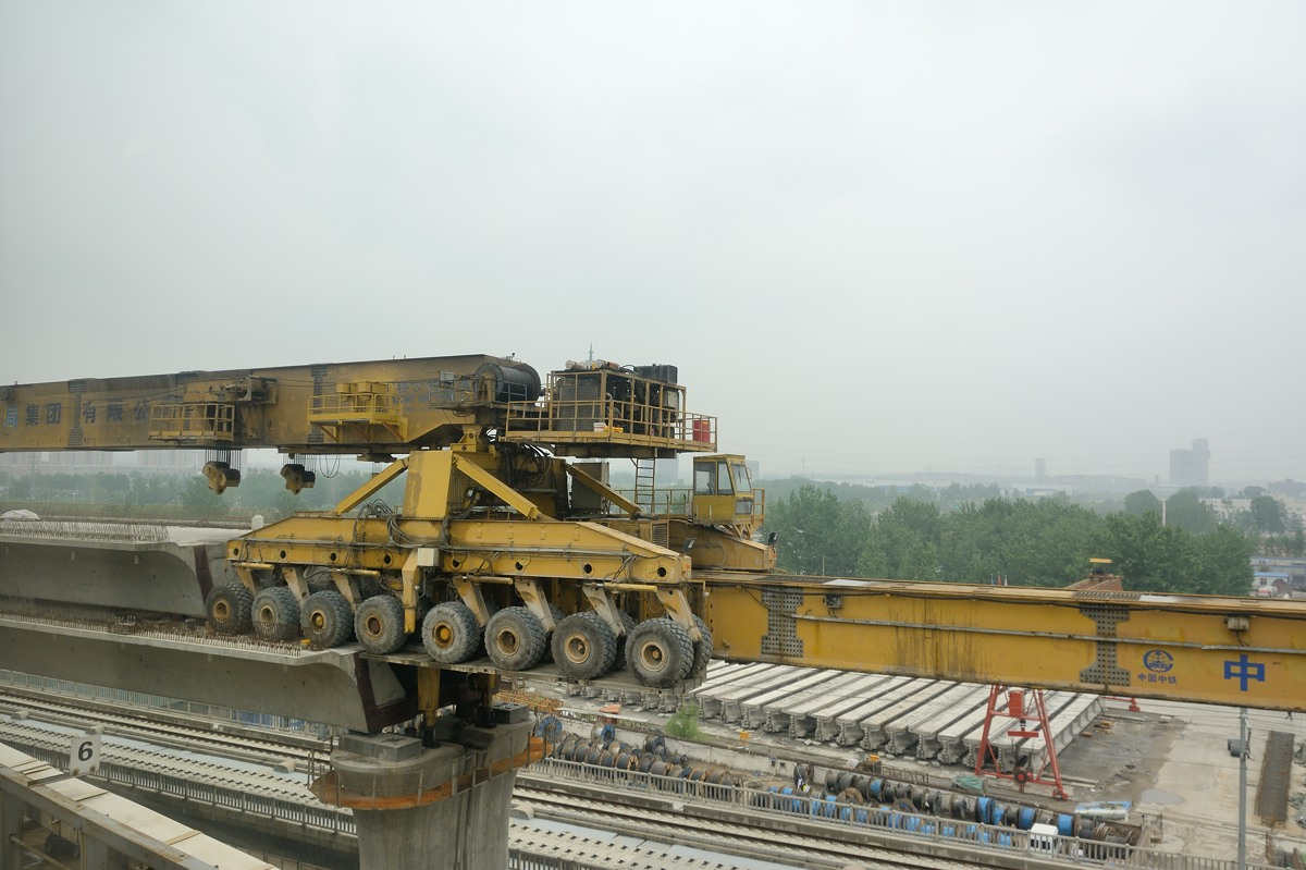High speed railway construction in China