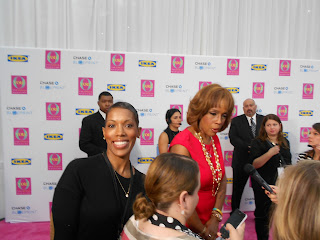 DSCN1357 On the Red Carpet with Gayle King- O You 2012