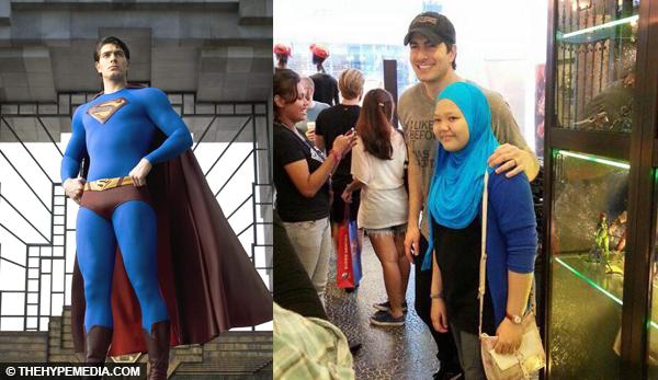 5 Gambar Superman Datang Ke Johor