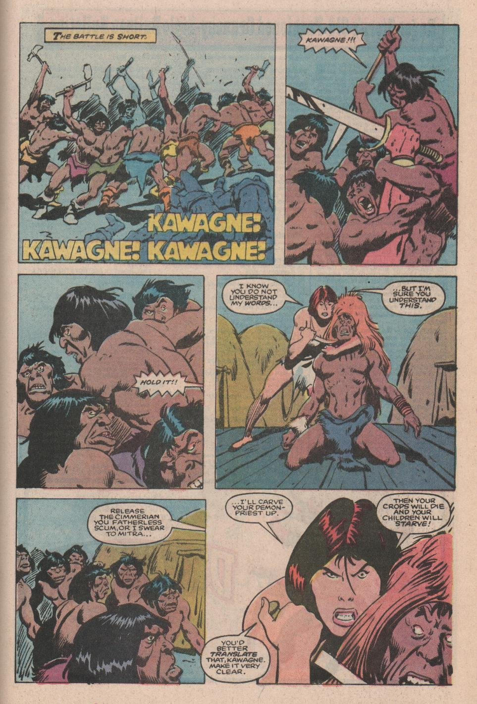 Conan the Barbarian (1970) Issue #172 #184 - English 21