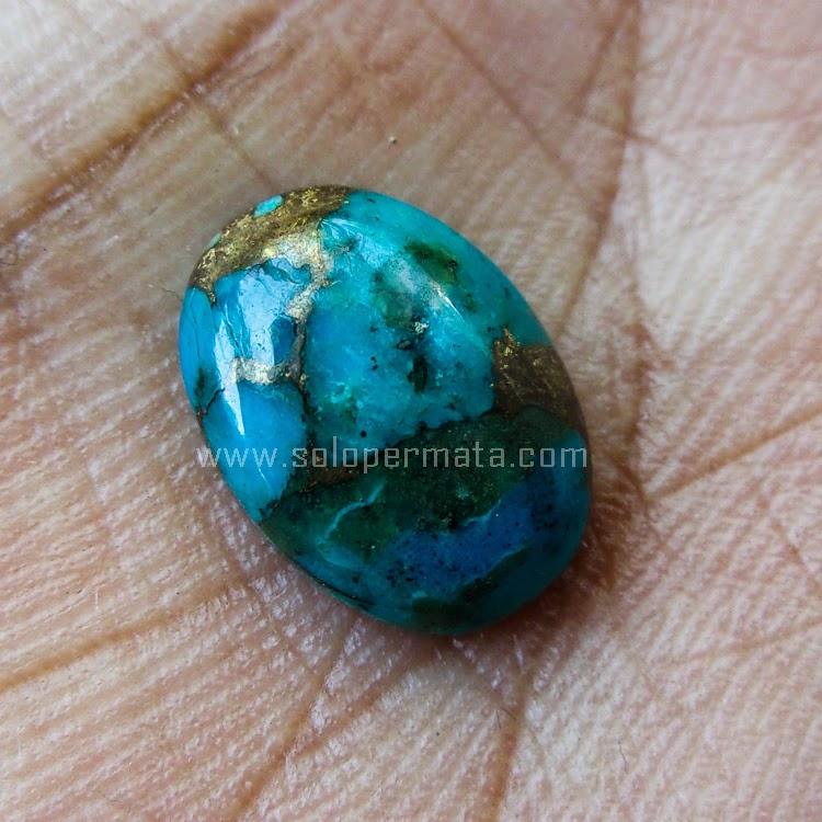 Batu Permata Pyrus Turquoise - SP608