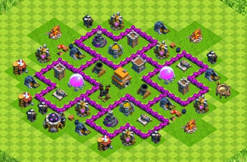 Cha boys base design for clan wars