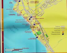Hawaii Lahaina Maui Street Map