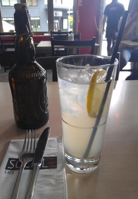 Social Brew Cafe, Pyrmont, Sydney, lemonade