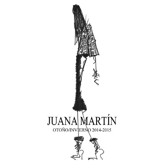 N.E.O de JUANA MARTÍN en MBFW Madrid - otoño invierno 2014 2015
