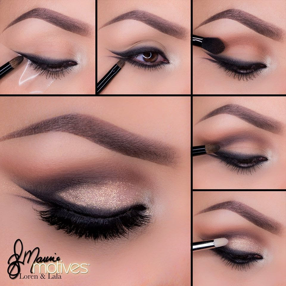 Pencil eyeliner is easy to apply, but sometimes doesn't spread as smoothly or thickly as gel or liquid liners. Gel liners are matte and glide on easily. They sometimes come in a little pot with a brush.